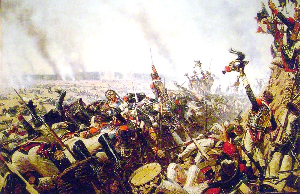 Сражение при прейсиш-эйлау стало одним из самых упорных и кровавых за всю карьеру наполеона